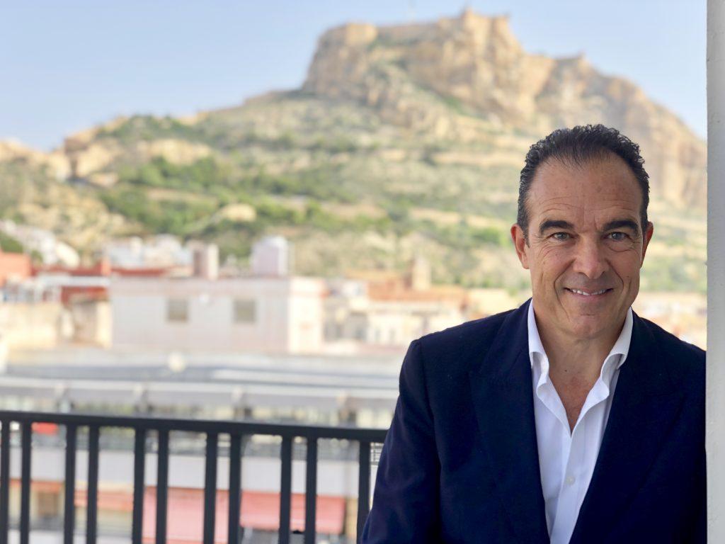 Antonio Peral, concejal de Modernización del Ayuntamiento de Alicante