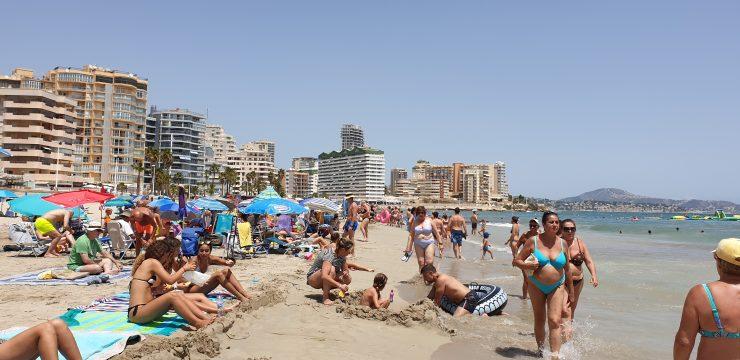 La última década acumula los registros más altos de temperatura en los meses de agosto en España