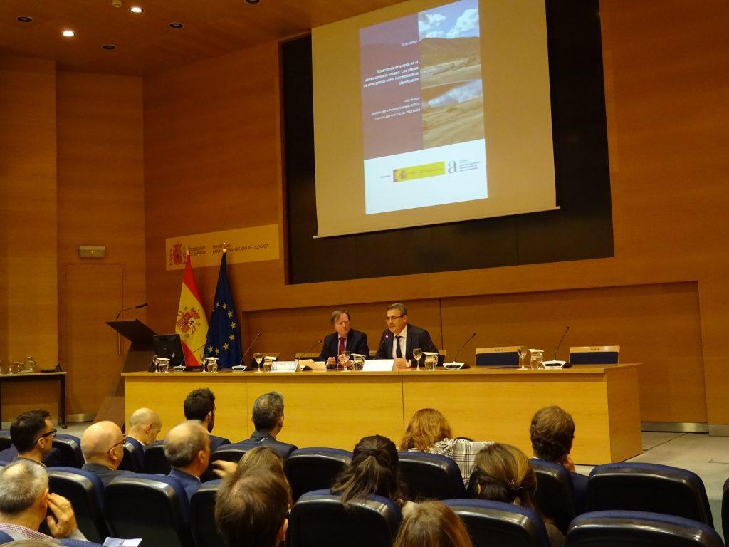 La guía se ha presentado durante una jornada en el Ministerio para la Transición Ecológica con AEAS.