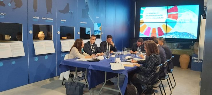 En el 121 aniversario de Aguas de Alicante la compañía trabaja para la difusión de los ODS en un foro que alberga M2A.