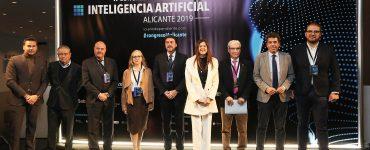 La segunda edición del Congreso de Inteligencia Artificial ha reunido a administraciones públicas y empresas para hablar de la aplicación y ética de este sistema. ©Diputacion-Alicante