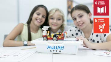 Aquae STEM lanza un programa educativo para fomentar las vocaciones STEM entre las niñas