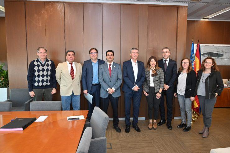 La UPV crea una cátedra con la Conselleria de Economía Sostenible trabajan para conseguir un modelo energético más eficiente