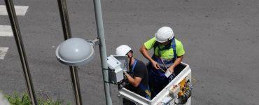 El alumbrado público de Torrent sirve de base para la Instalación de sensores. Ajuntament de Torrent