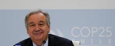 António Guterres insiste en la esperanza en la lucha contra la crisis climática para iniciar la COP 25
