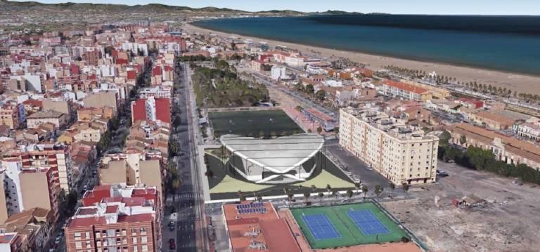 Proyecto de polideportivo - Ajuntament de València