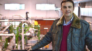Juan José Hernández, de Greene, explica los planes de expansión de la firma de Elche en la gestión energética de los residuos.