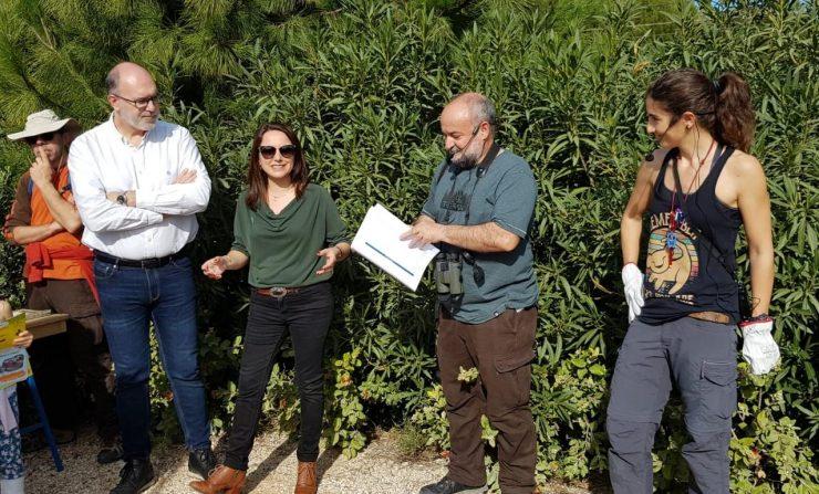 El proyecto Anillamiento científico de aves en el parque inundable La Marjal de Alicante presenta sus conclusiones y destaca la importancia de este espacio.