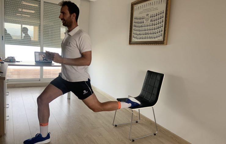 Roberto Cejuela ofrece en directos de Instagram los entrenamientos que realiza el equipo de UATriatló de la Universidad de Alicante para apoyar durante la cuarentena.