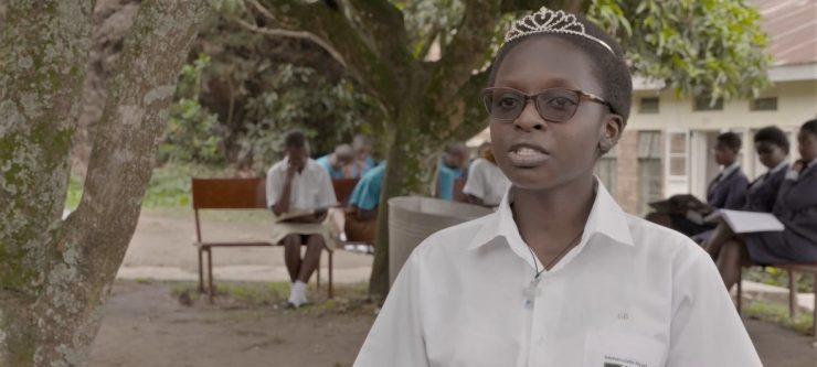 Natukunda Edetruda es una estudiante de Uganda cuya escuela forma parte del programa de la Unesco para combatir el cambio climático desde la educación.