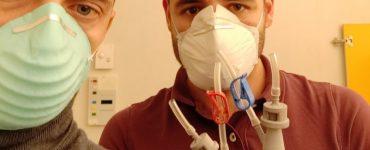 isinnova es una empresa italiana que ha ayudado a un hospital de su ciudad, Brescia, a superar la escasez de respiradores durante la crisis del coronavirus gracias a las impresoras 3D.