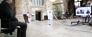 En el Palau de la Generalitat, Ximo Puig presenta los 41 proyectos seleccionados