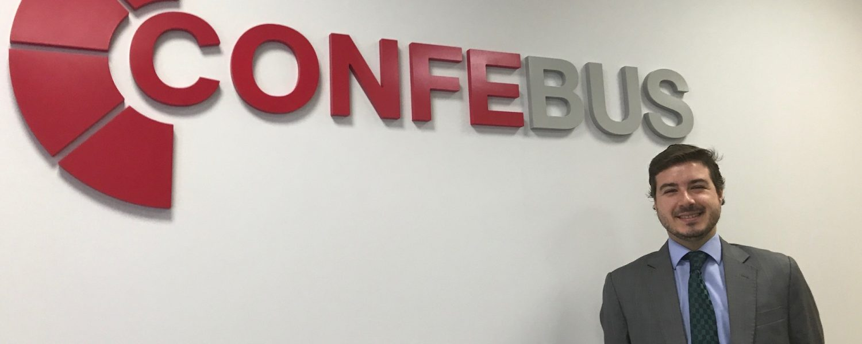 Jaime Rodríguez Medal es el director de la Confederación Española de Transporte de Autobús (Confebus)
