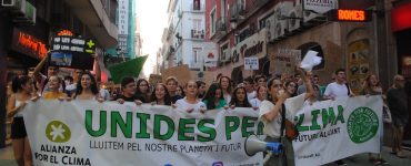 Paula Fernandez, de Fridays For Future Alicante