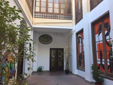 Actual patio interior del que será el Centro de Envejecimiento Activo.
