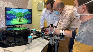 Maximizar la rehabilitación motora de personas con daño cerebral adquirido. Ese es el objetivo del robot que ha creado iDRhA, de la UMH.