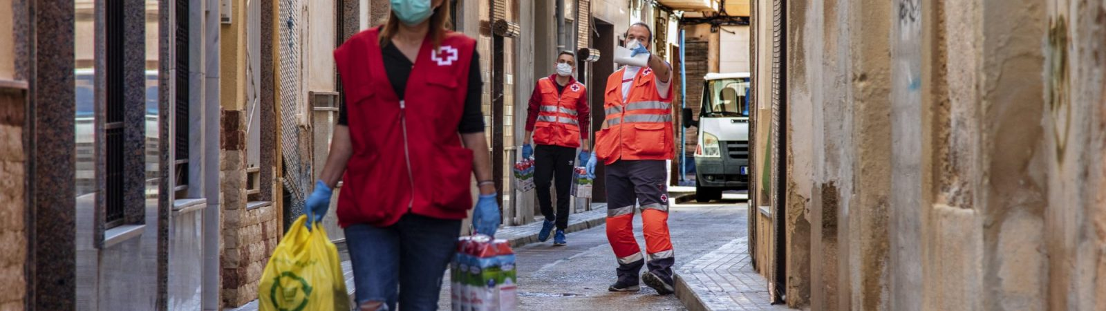 Suez España ha colaborado con el programa Cruz Roja Responde, lanzado para apoyar en la crisis de la pandemia