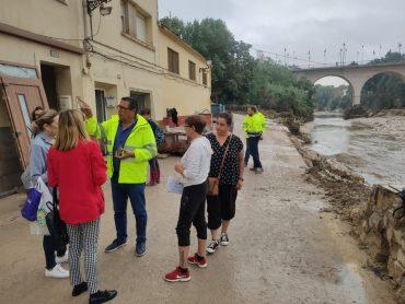 Ayuntamiento y Generalitat colaboran para transformar la ribera del Clariano en la Cantereria mediante un parque inundable con el plan Riu Viu