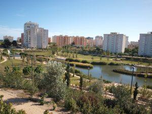 El parque La Marjal es un ejemplo del desarrollo de soluciones basadas en la naturaleza que representa una de las mayores inversiones del grupo Suez e Hidraqua en la Comunitat Valenciana.