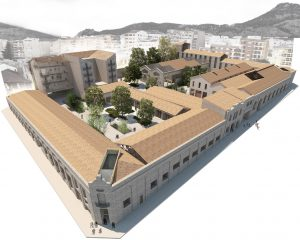 La antigua fábrica de Rodes será la insignia de Alcoidemà.