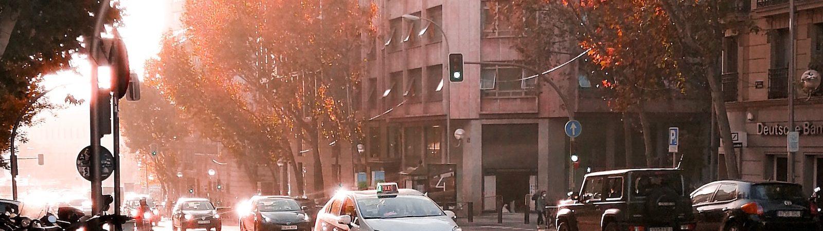 Madrid, Barcelona y Mollet del Vallés colocan a España como líder en contaminación del aire por NO2 en Europa, según un estudio. Foto: Henar Langa