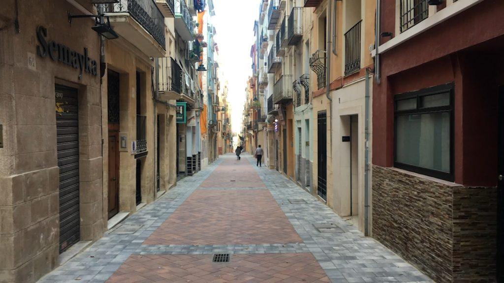 Con Alcoidemà han reformado la calle Sant Francesc.