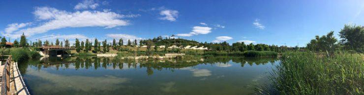 El parque La Marjal es uno de los casos prácticos de adaptación al cambio climático que ha seleccionado el Ministerio para la Transición Ecológica.
