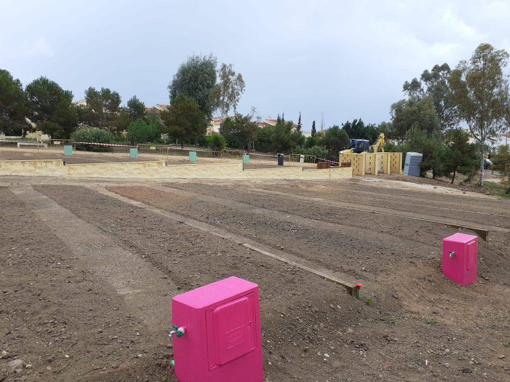 El proyecto de Hidraqua en San Fulgencio dispondrá 68 parcelas que se regarán con agua regenerada.