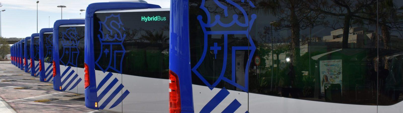 Autobuses hídridos eléctricos