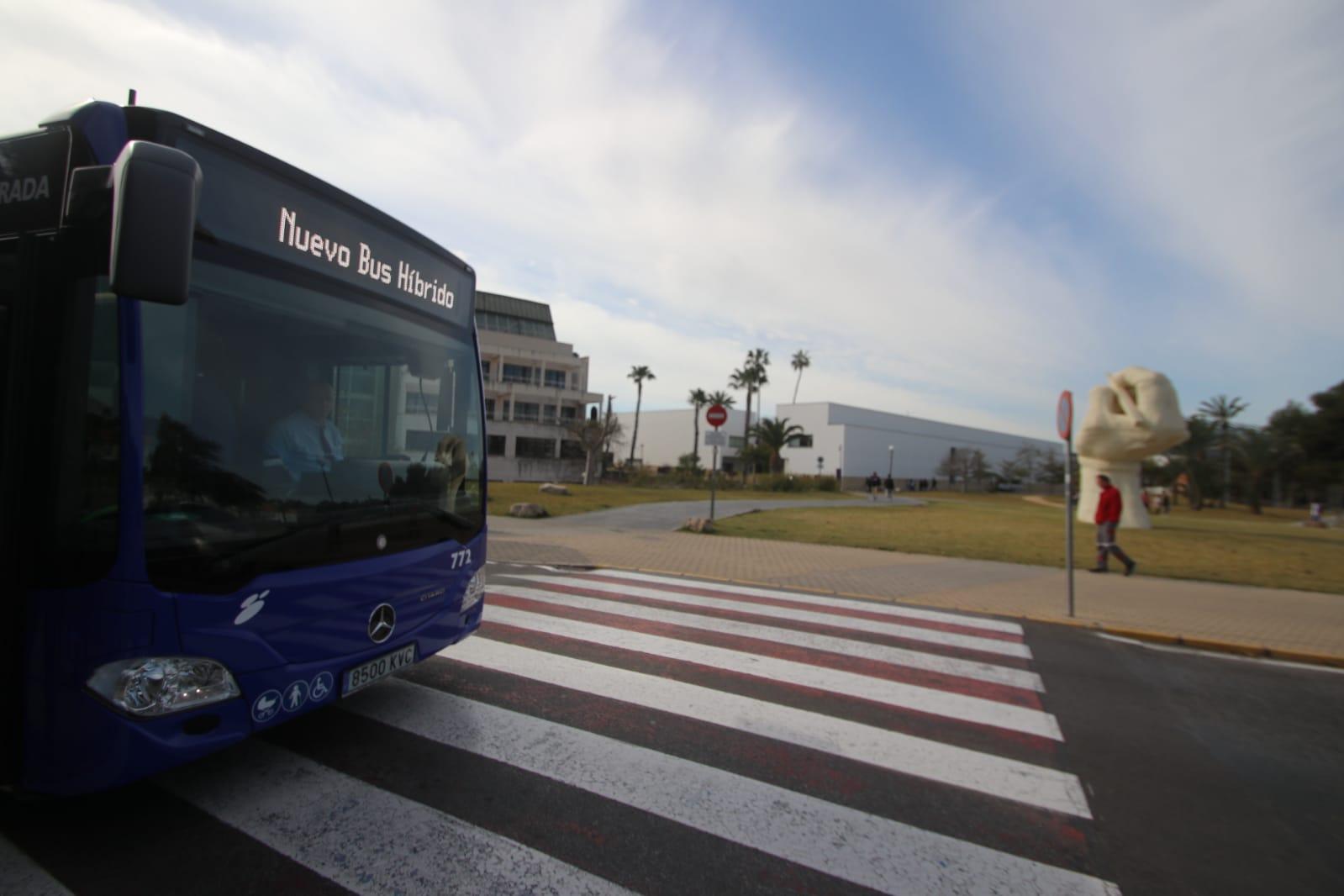 Autobuses hídridos-eléctricos