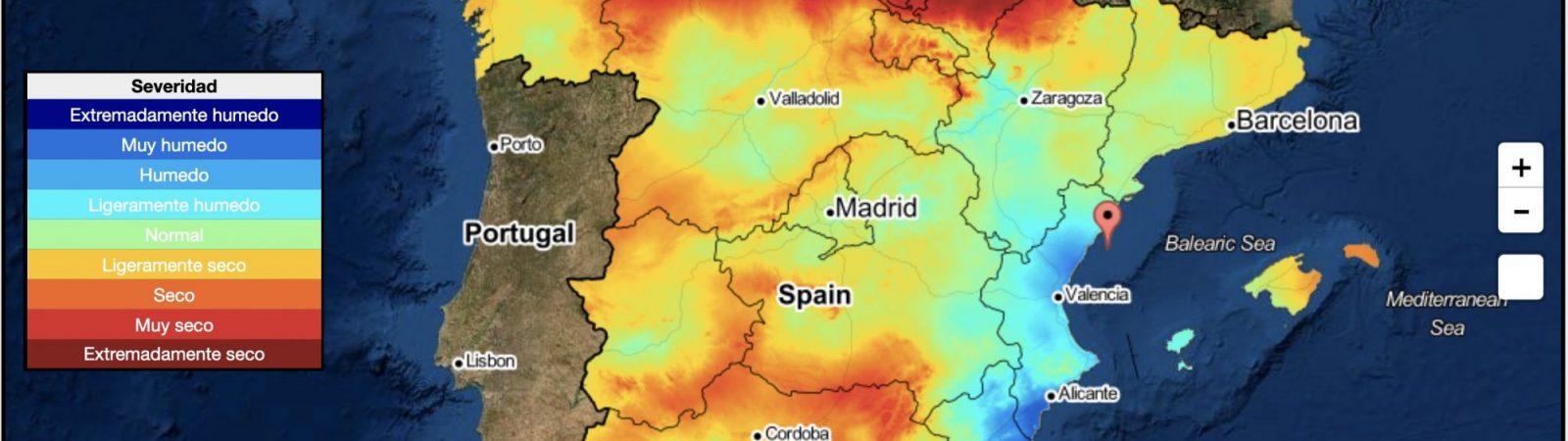 Desemon, el monitor de sequía que presenta España se autodescribe como una alternativa para gestionar mejor un fenómeno cada vez más usual.