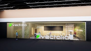 Vectalia presenta su visión de las estaciones de autobuses del futuro en Fitur 2021.