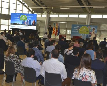 El foro internacional reúne a empresarios y administraciones de España y Francia en Distrito Digital para fomentar los negocios sostenibles.