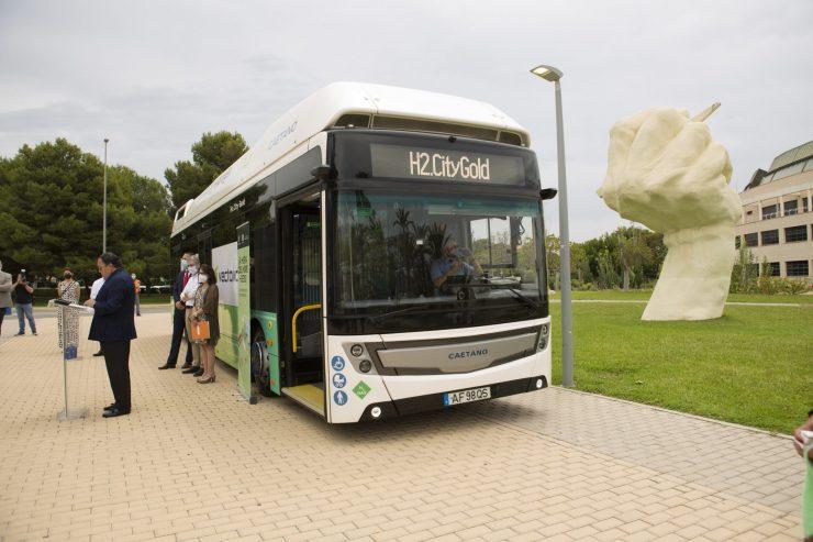 FRV y Vectalia impulsan el autobús de hidrógeno verde.