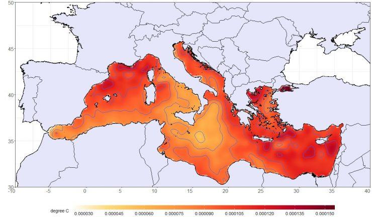 Las olas de calor y las temperaturas más altas en el aire se retroalimentan en el Mediterráneo, según el catedrático de la UA, Jorge Olcina.