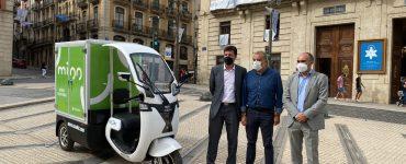 Vectalia implanta en el centro Mioo Reparto Ecosostenible, el reparto y recogida con vehículos verdes.