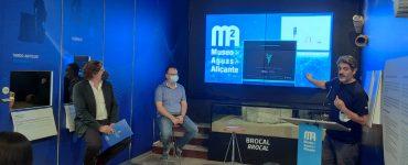 La programación del Museo de Aguas de Alicante retoma las exposiciones de arte y las actividades culturales.