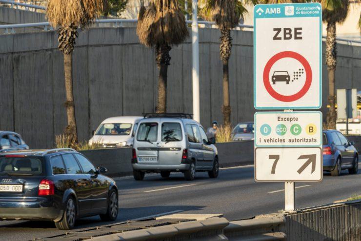 Barcelona estrenó su Zona de Bajas Emisiones ya en 2020.